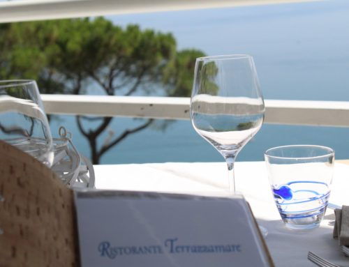 """Tradizione di mare nel piatto e """"Panorama spettacolo"""" incluso nel coperto!"""