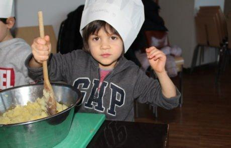 Bimbi in cucina- Cucinare a 4 mani