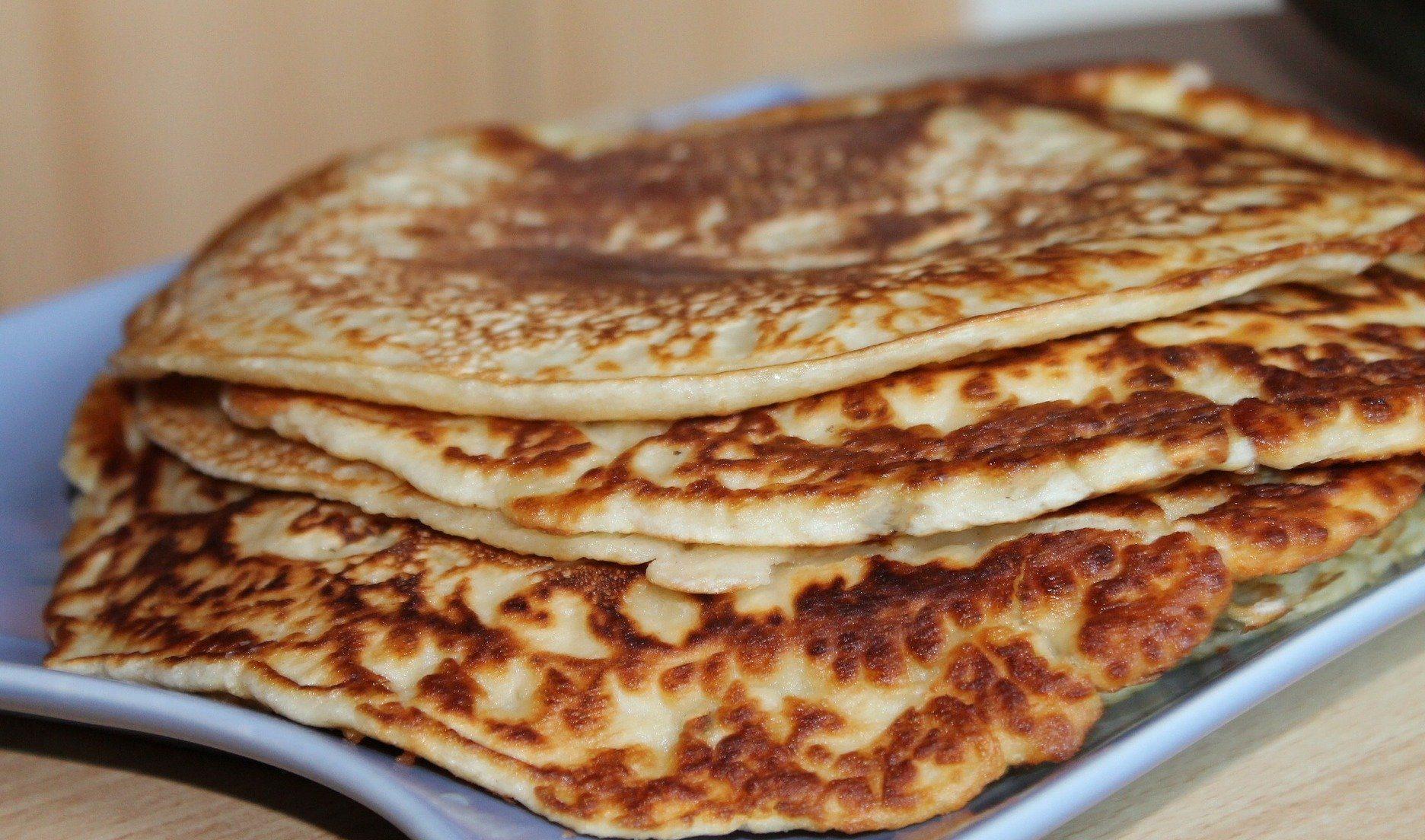 pancake. vegani