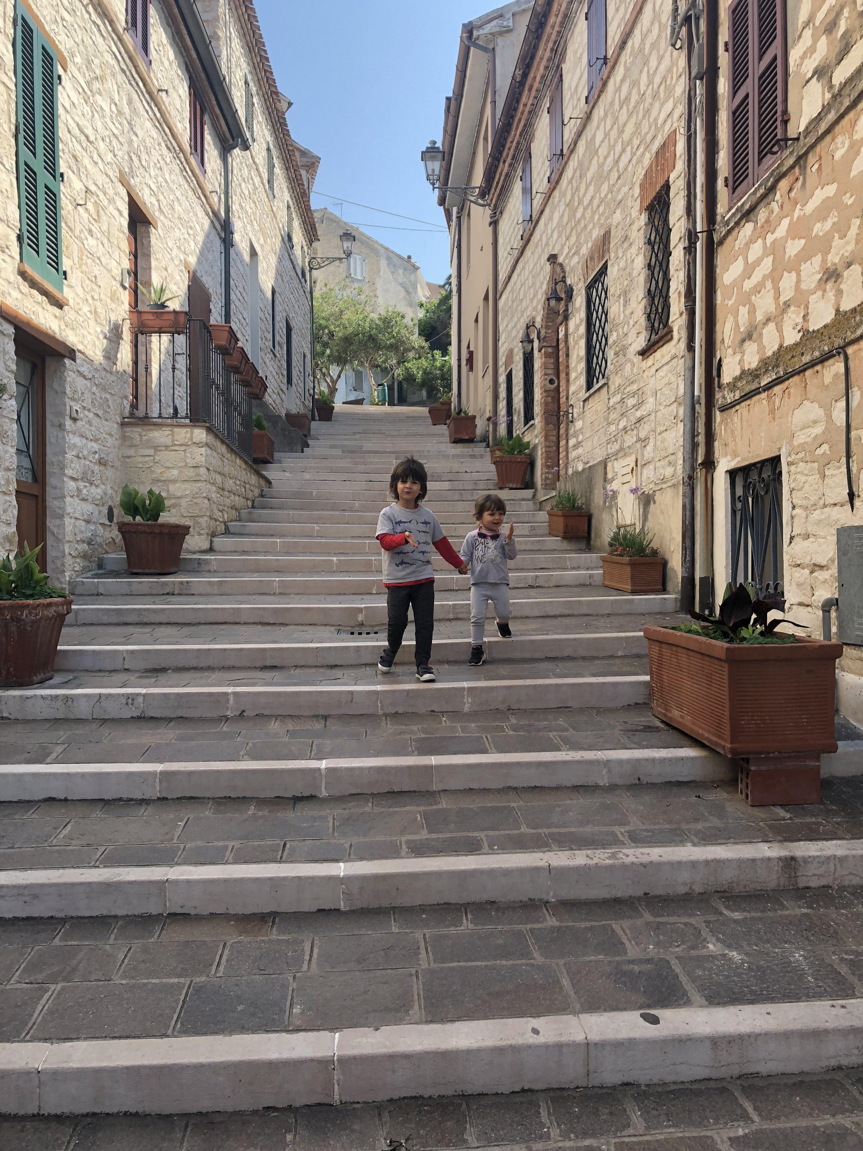 scalinata della Costarella