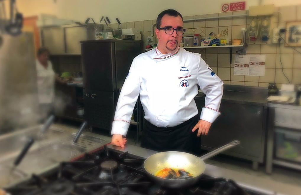 Marco domenella Chef