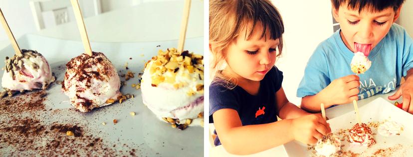 lollipop di gelato