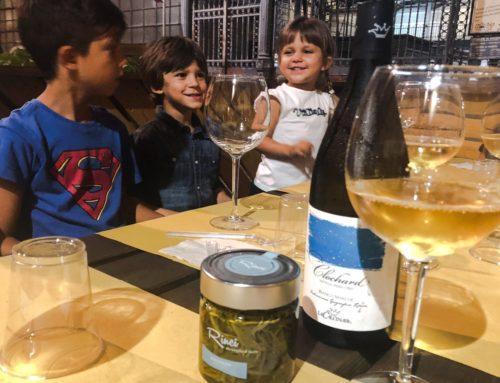Cenetta vegetariana, Paccasassi marchigiani e Vini vagabondi
