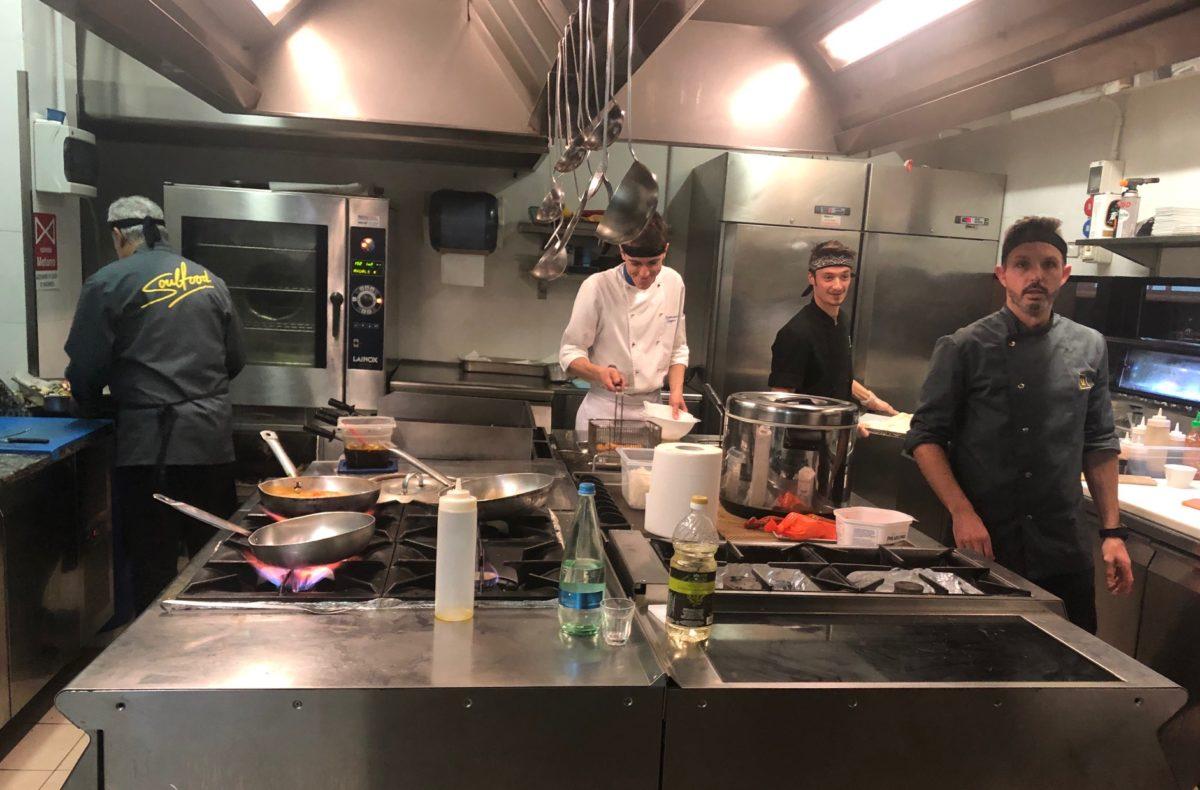 Fragustoepassione_Cucina U-bahn Ancona