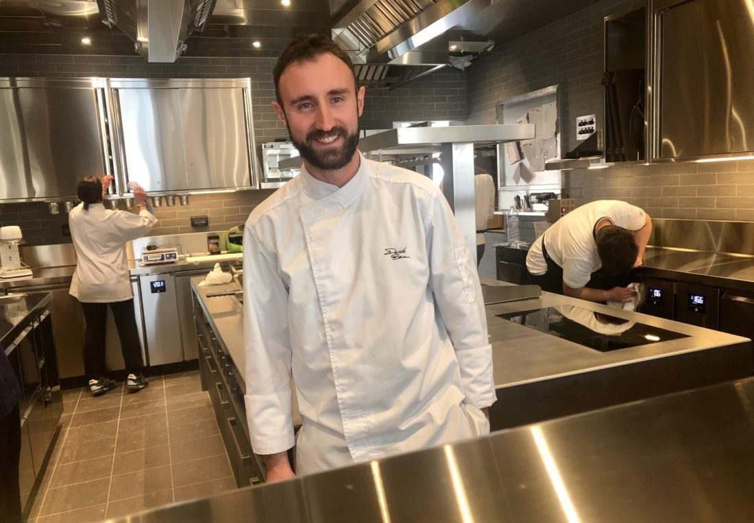 Chef Davide Breccia Lofficina