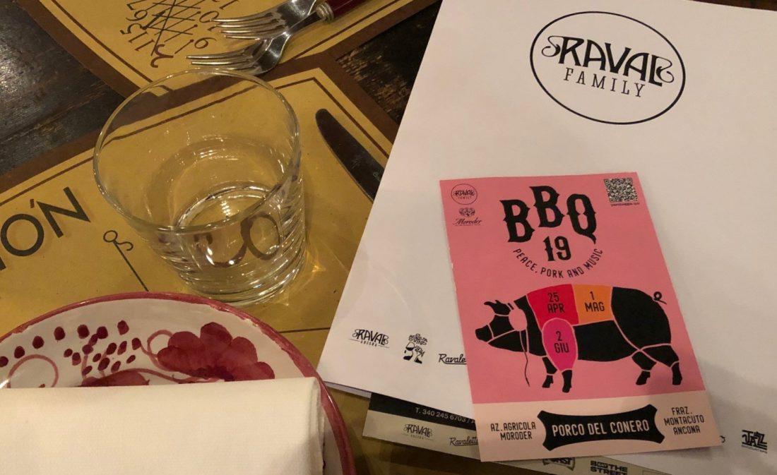 Raval Family e BBQ Porco del conero