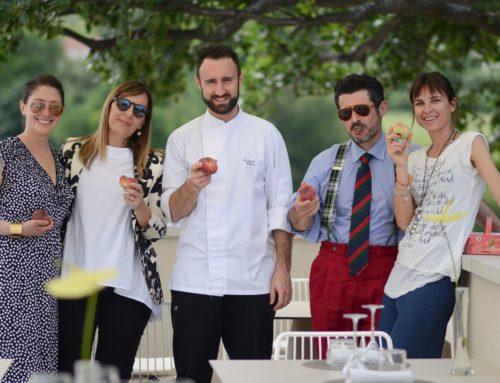 """Il Ristorante LOfficina di Sirolo apre le danze con il primo menu- Lab """"Pesca Saturnia"""" 2019"""