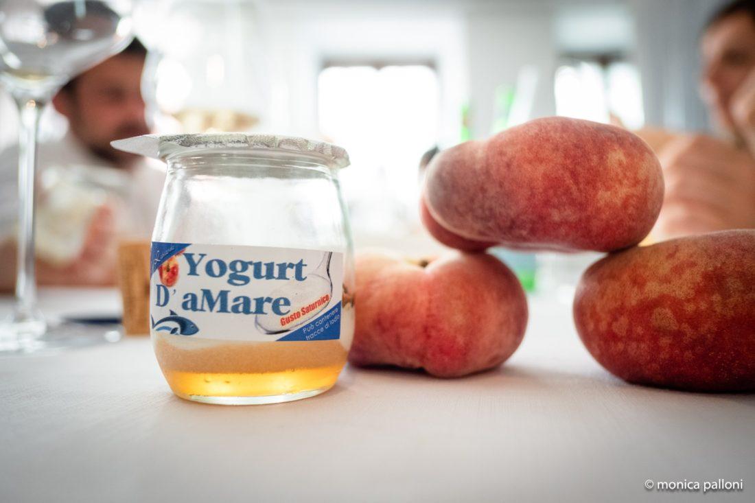 Casa Rapisarda Pesca Saturnia yogurt