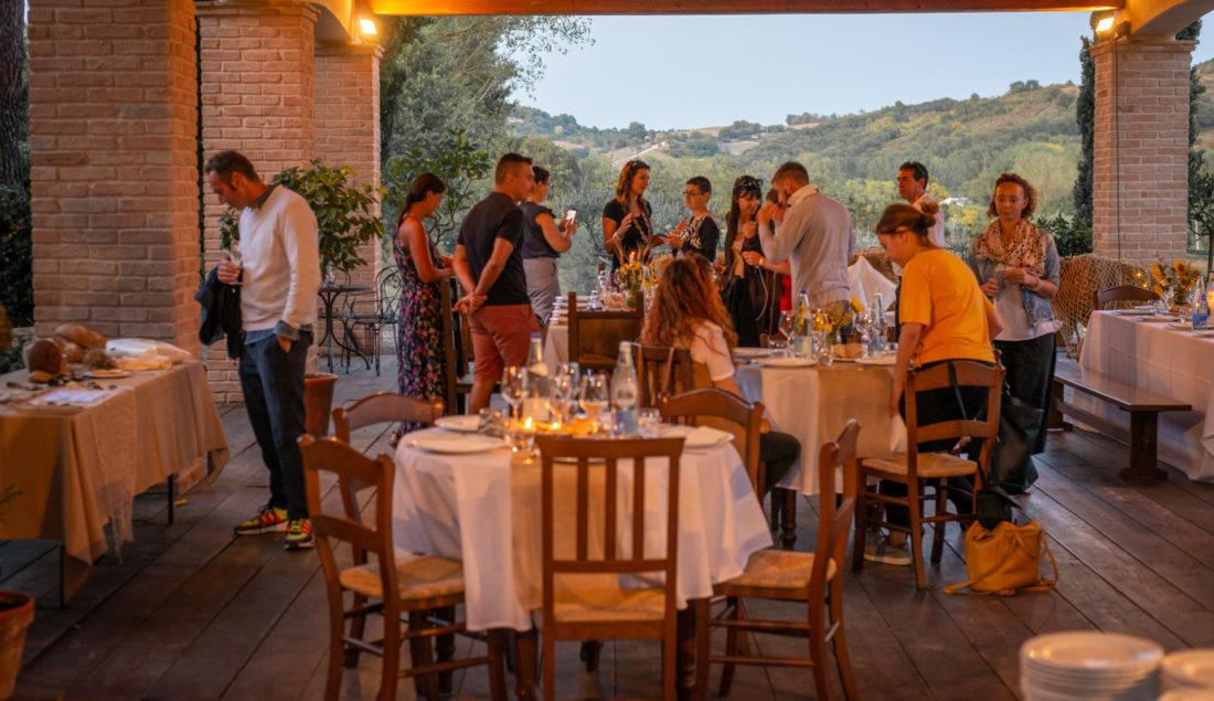 Agriturismo Rustico del conero Cena