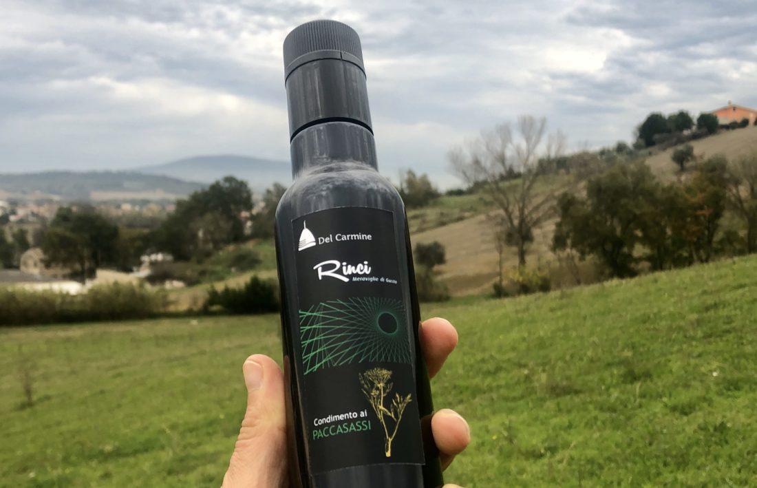 Olio ai Paccasassi rinci tipicità marche