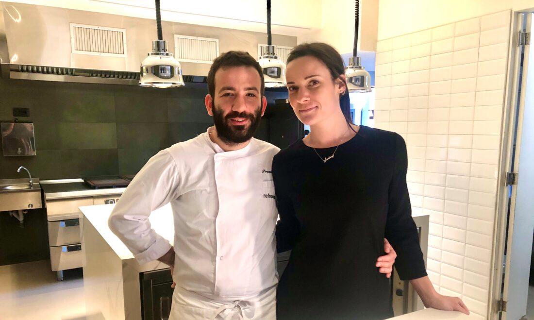 Ristorante Retroscena: Chef Ferracuti e sua moglie