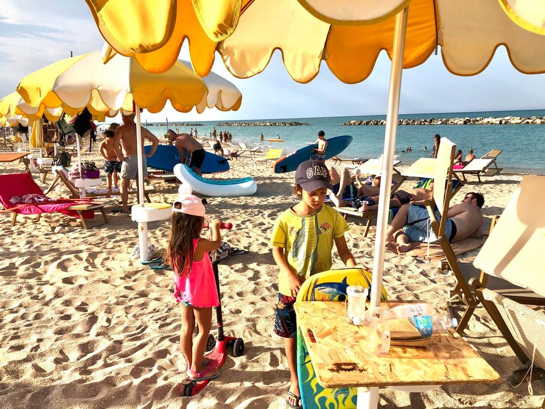 Spiagge ideali per Bambini nelle Marche