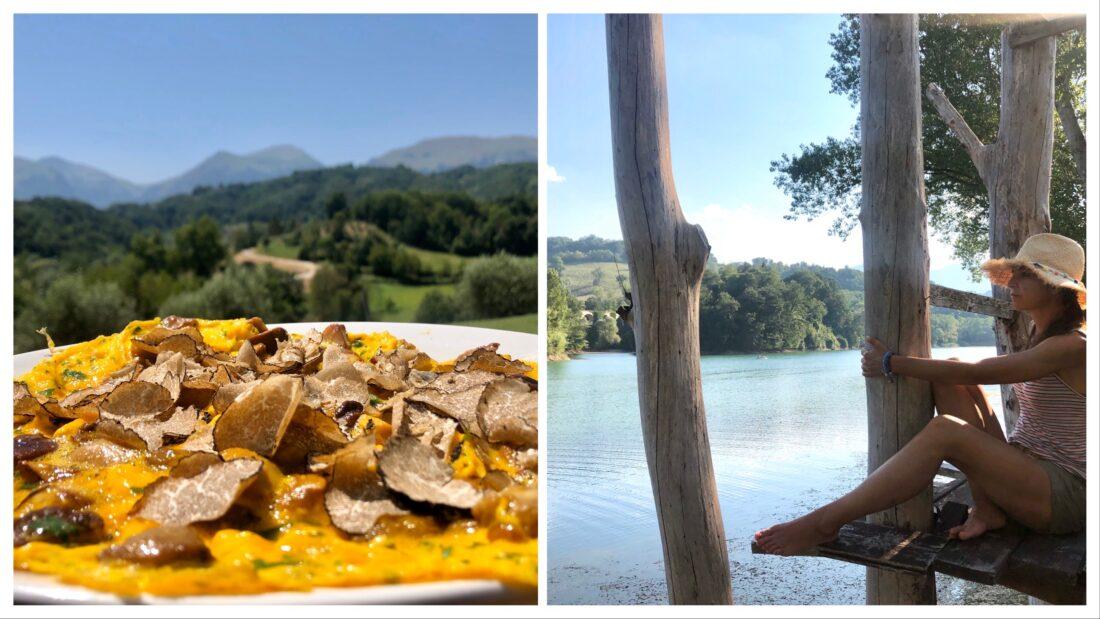 Amandola e Lago di San Ruffino