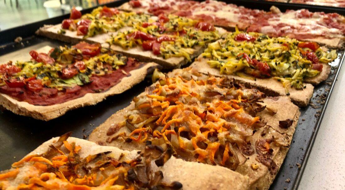 Pizza biologica lievito madre