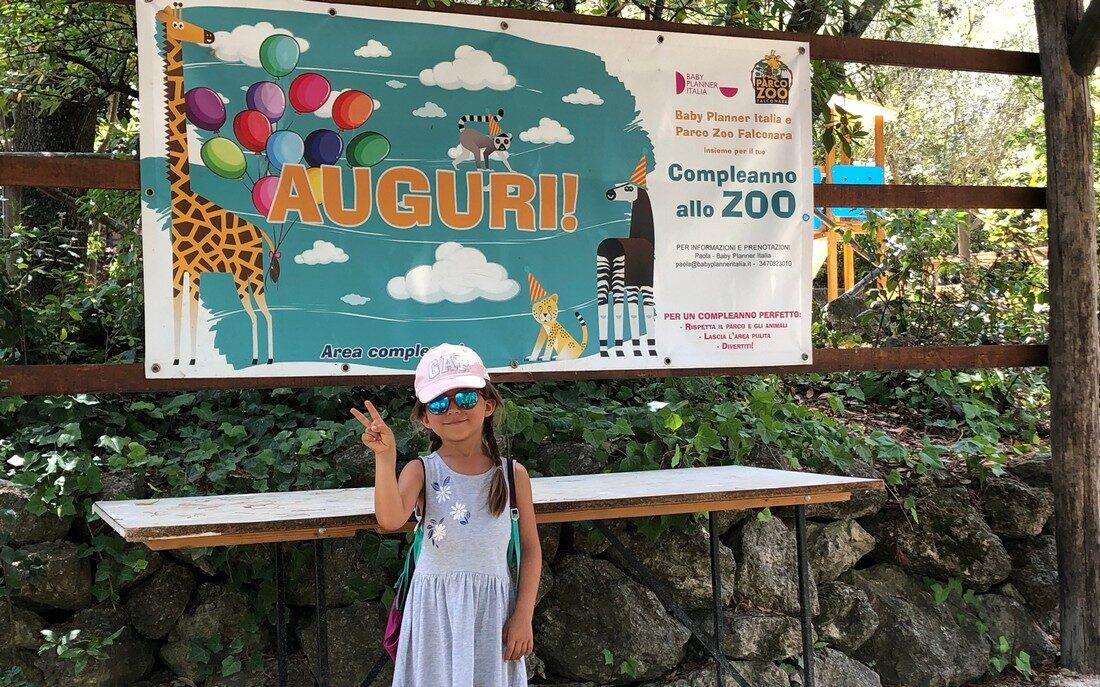 Parcozoo di Falconara con bambini